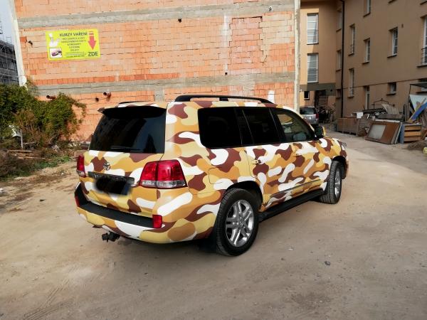 ochrana metalického laku auta