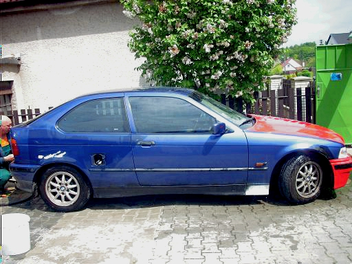 Změna barvy auta