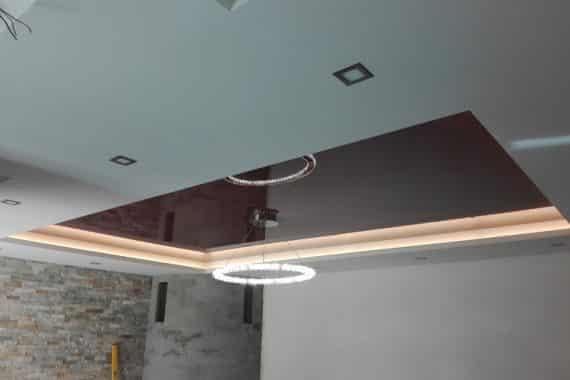 Montáž napínaného stropu
