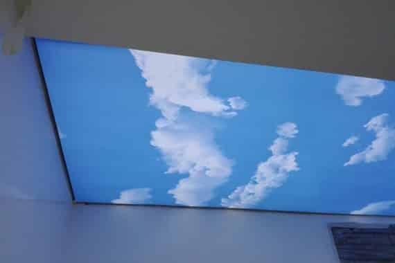 Montáž stropní fólii