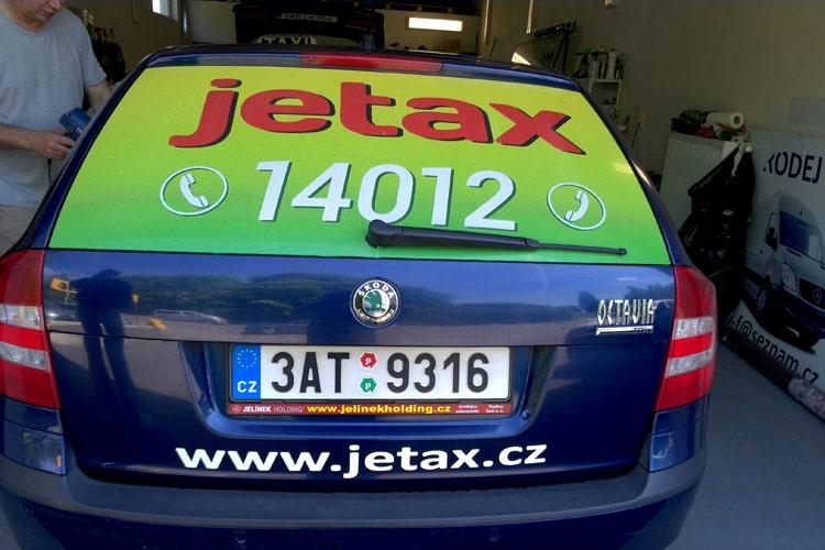 Výroba reklamy na automobil